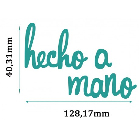 Troquel HECHO A MANO