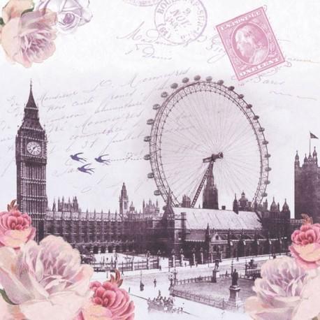 SERVILLETAS- Postal London