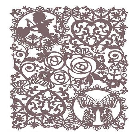 Stencil Shadow FONDO CUPIDO