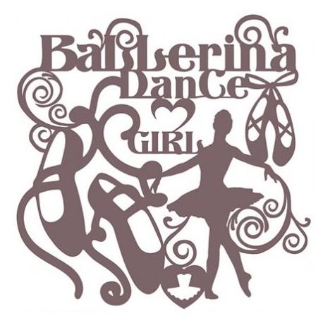 Stencil Shadow BALLERINA