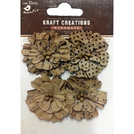 Kraft Creations - 4 FLORES KRAFT