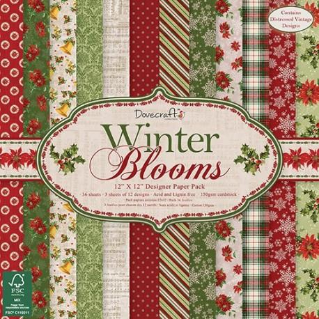 Winter Blooms 30x30