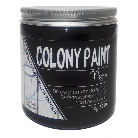 Colony Paint NEGRO Chalky