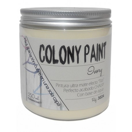 Colony Paint IVORY Chalky