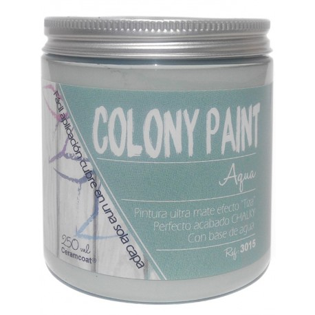 Colony Paint AQUA Chalky