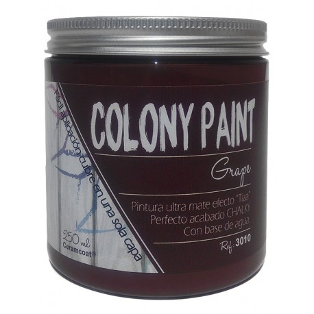 Colony Paint GRAPE Chalky