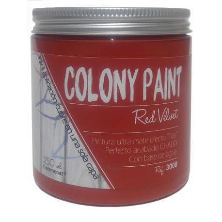 Colony Paint RED VELVET Chalky