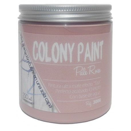 Colony Paint PALE ROSE Chalky