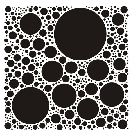 Stencil DECO6 45x45cm