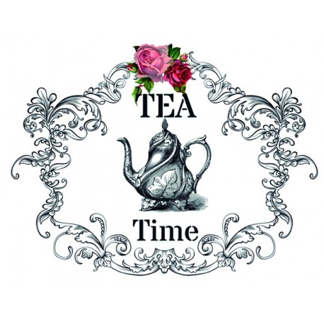 Transfers HOME DECOR Tea Time