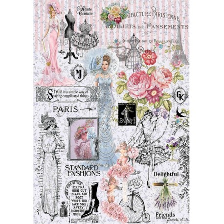 Papel de Arroz PARIS FASHIONS