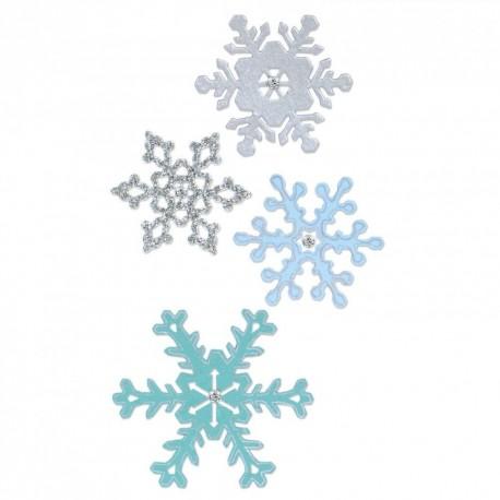 Troquel Thinlits SNOWFLAKES