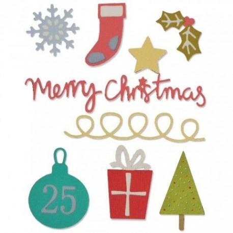 Troquel Thinlits CHRISTMAS