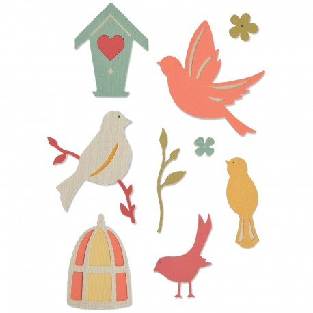 Troquel Thinlits SWEET BIRD