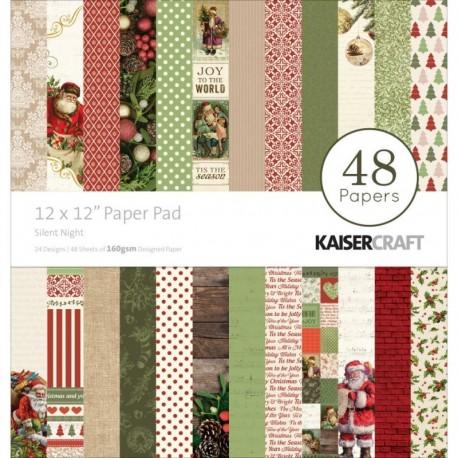 Papeles 30x30 SILENT NIGHT KaiserCraft