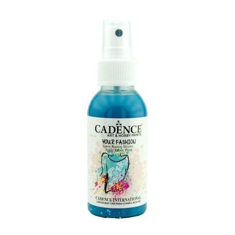 Spray Textil Cadence TURQUESA OSC.