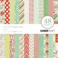 Papeles 30x30 MISTLETOE KaiserCraft