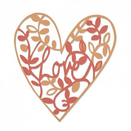 Troquel Thinlits NATURAL LOVE