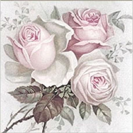 SERVILLETAS- Big Rose