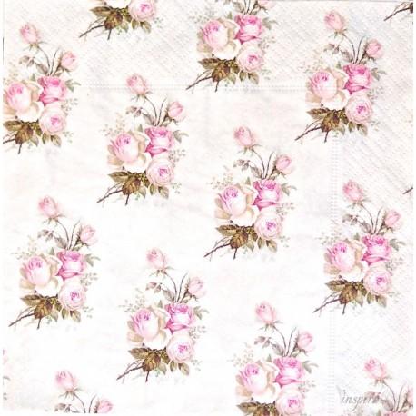 SERVILLETAS- Small Vintage Roses
