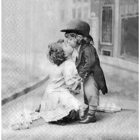 SERVILLETAS- Vintage Kissing