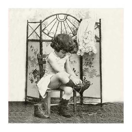 SERVILLETAS- Vintage Fashion Girl