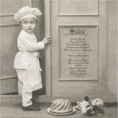 SERVILLETAS- Vintage Chef