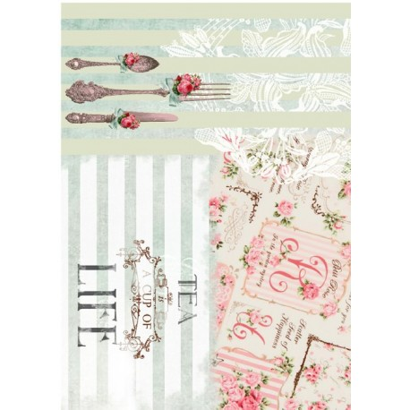 Papel de Arroz TEA LIFE2