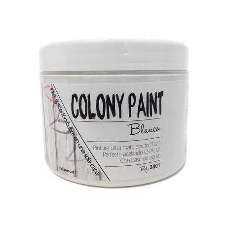 Colony Paint BLANCO Chalky 650gr. ARTESANIAS MONTEJO