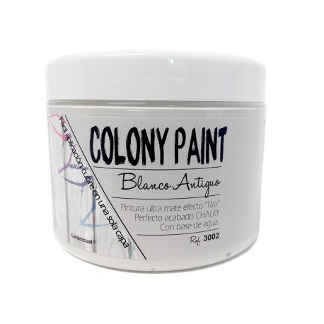 Colony Paint BLANCO ANTIGUO Chalky 650gr. ARTESANIAS MONTEJO
