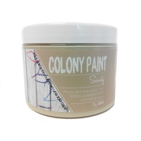 Colony Paint SANDY Chalky 650gr. ARTESANIAS MONTEJO