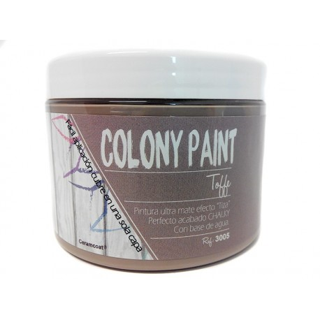 Colony Paint TOFFE Chalky 650gr. ARTESANIAS MONTEJO