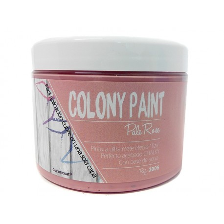 Colony Paint PALE ROSE Chalky 650gr. ARTESANIAS MONTEJO