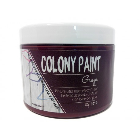 Colony Paint GRAPE Chalky 650gr. ARTESANIAS MONTEJO