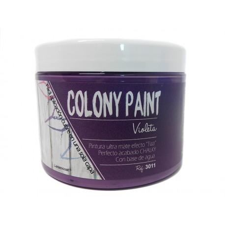 Colony Paint VIOLETA Chalky 650gr. ARTESANIAS MONTEJO