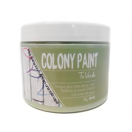 Colony Paint TE VERDE Chalky 650gr. ARTESANIAS MONTEJO