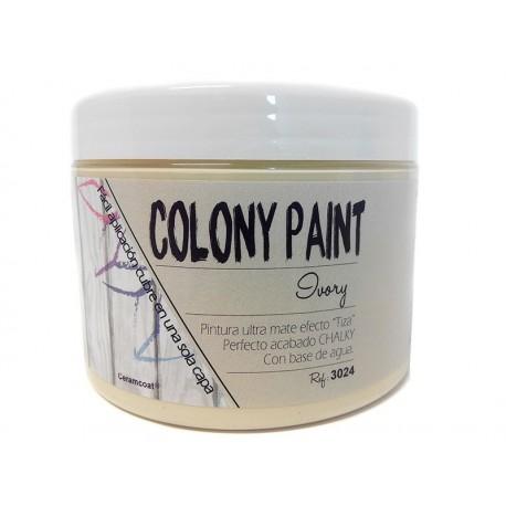Colony Paint IVORY Chalky 650gr. ARTESANIAS MONTEJO
