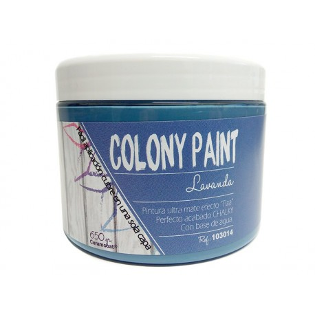 Colony Paint LAVANDA Chalky 650gr. ARTESANIAS MONTEJO