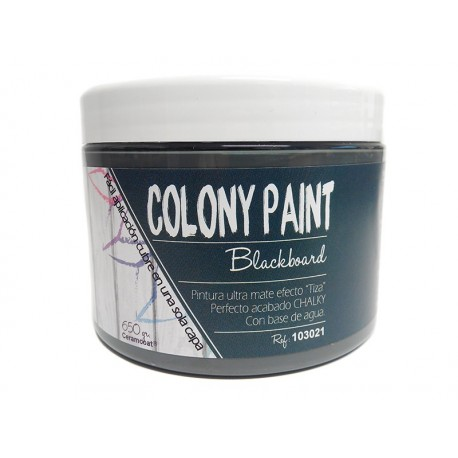 Colony Paint CHALKBOARD Chalky 650gr. ARTESANIAS MONTEJO