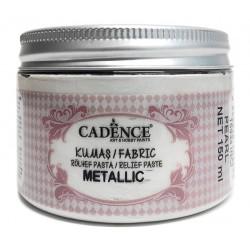 Pasta de Relieve Textil METALLIC Perla