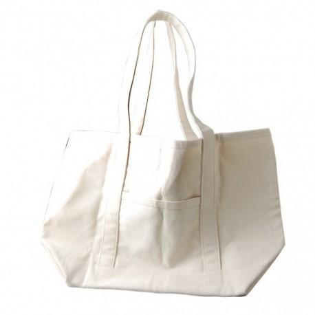 Bolsa tela 52x34 cm para decorar con pinturas y pastas CADENCE Distribuida por Artesanías Montejo