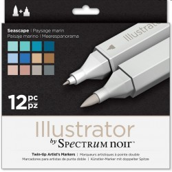 ILLUSTRATOR Spectrum PAISAJE MARINO