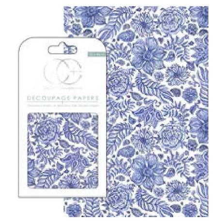 DECOUPAGE Indian Blue de CRAFT CONSORTIUM en Artesanías Montejo