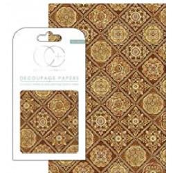 DECOUPAGE Baldosas Golden Tiles
