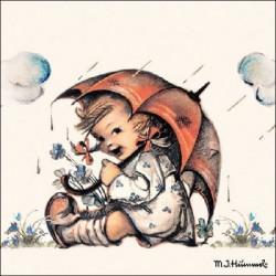 SERVILLETAS- Umbrella Girl