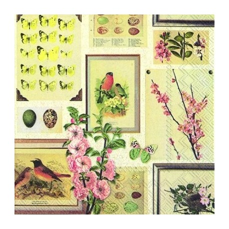 SERVILLETAS- Botanical Spring para decoupage en Artesanías Montejo