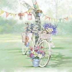 SERVILLETAS- Bike Against Tree