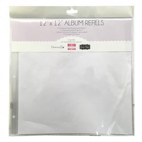 Hojas álbum 30x30 distribuida por Artesanías Montejo