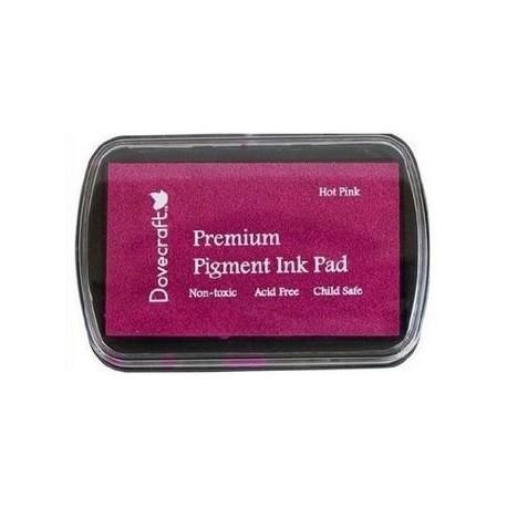 Tinta PREMIUM Hot Pink de dovecraft distribuido por Artesanías Montejo