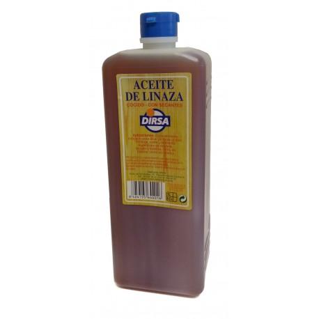 Aceite de Linaza 1L. DIRSA distribuido por Artesanías Montejo
